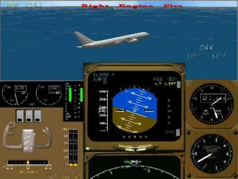 Air accident real voice recording and flight data