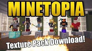 MINETOPIA - Texture Pack Download! - Minecraft Reallife Server   AspiireTopia Server!