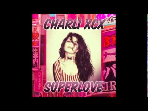 Charli XCX - SuperLove (Official Instrumental/Karaoke Version)