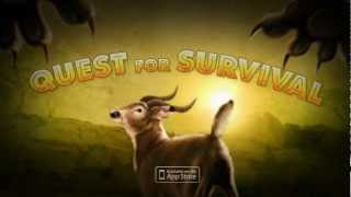 Quest for Survival - iPad app for Big Cat Week