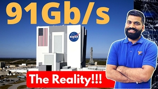 World\'s Fastest Internet at NASA 91Gb/s | The Reality Explained!!!