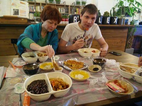 Сеул, Серия 2. Традиционный корейский ресторан. Метро. Офис KICC