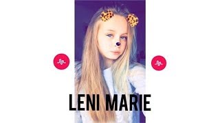 Leni Marie BEST OF MUSICAL.LY COMPILATION🔥