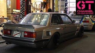 video thumbnail of Rocket Bunny BMW M3's in Japan - E30, E36 & E46