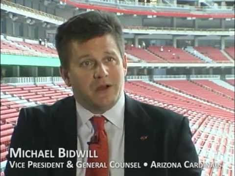 Michael Bidwill on Hunt Construction Group and U of P Stadium