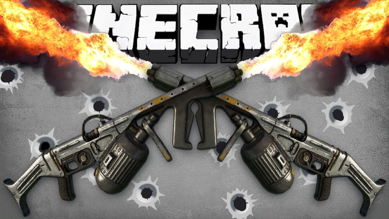 Minecraft  HUNGER GAMES WITH GUNS     w Preston   Woofless   YouTube