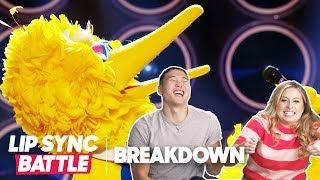 Comedians React to Big Bird on Lip Sync Battle w/ Joel Kim Booster & More!