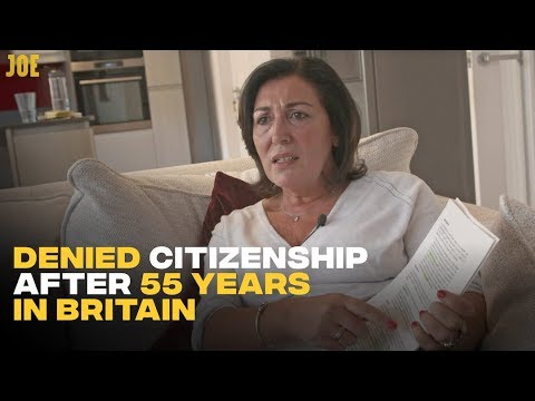 Denied Citizenship After 55 Years Living In Britain