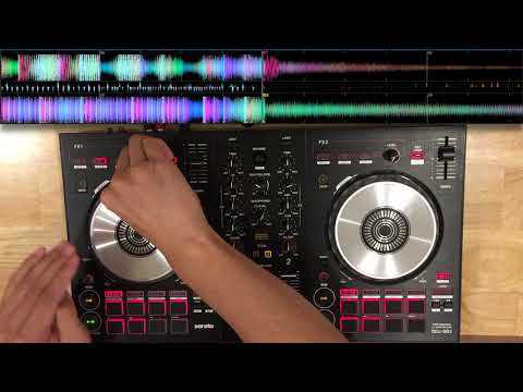 Pioneer DDJ SB3 | Festival EDM mix | Mixed in key