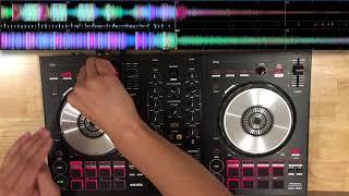 Pioneer DDJ SB3 | Festival EDM mix | Mixed in key