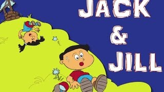 Jack And Jill Went Up The Hill | Nursery Rhymes With Lyrics | Puzzle Toons