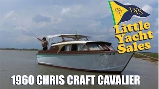 1960 Chris Craft Cavalier Express Cruiser for Sale at Little Yacht Sales, Kemah Texas