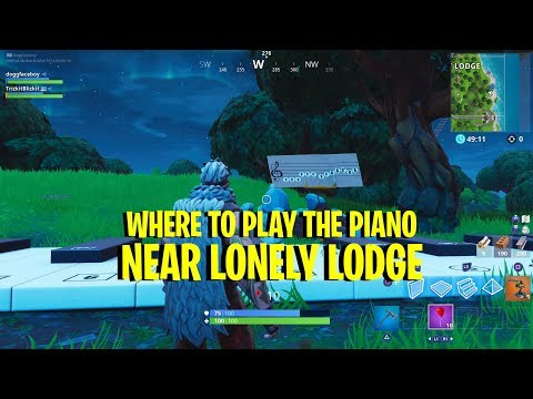 'Fortnite' Lonely Lodge Piano Location And How To Play It