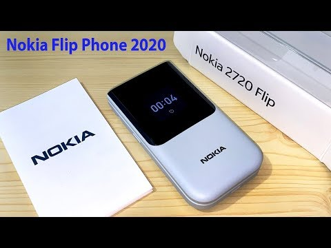 New Nokia 2720 Flip Phone 4G Gray,Black,Red Hands On 2020 Review And Unboxing
