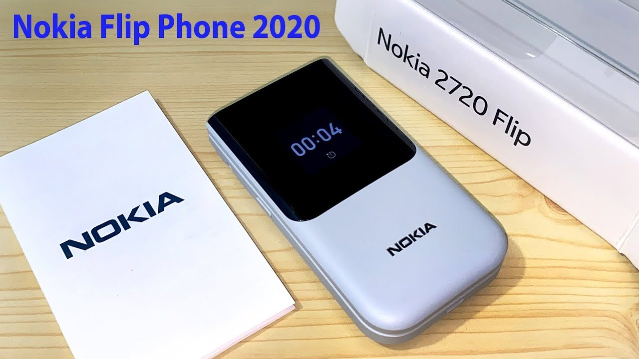 New Nokia 2720 Flip Phone 4G Gray,Black,Red Hands On 2021 Review and Unboxing