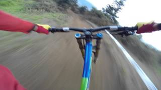 Bello Antioquia track. Rider: Mauricio Estrada.