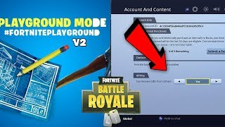 The New GIFTING SYSTEM in Fortnite! HOW TO TRADE SKINS! (Playground V2 + Gifting System Files LEAKED)