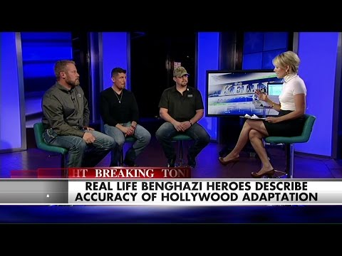 See the Heroes of Benghazi Open Up About the New '13 Hours'