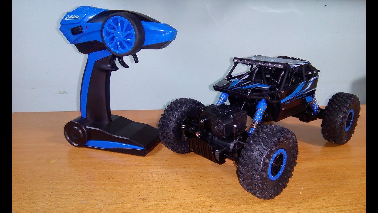 unboxing test hb p1803b 1 18 4wd rock crawler rc car. Black Bedroom Furniture Sets. Home Design Ideas