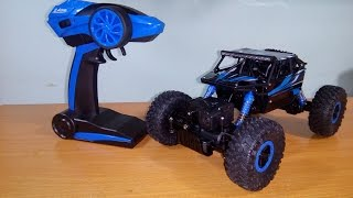 [Unboxing] & TEST HB - P1803B 1/18 4WD Rock Crawler RC Car by Banggood