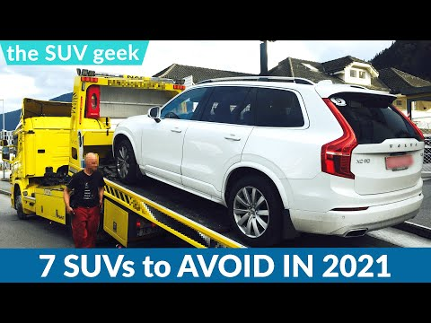 Least Reliable SUVs in 2021 – By Consumer Reports | AVOID these SUV's?