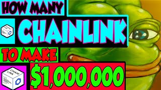 HOW MANY CHAINLINK TO BECOME A MILLIONAIRE?!?!