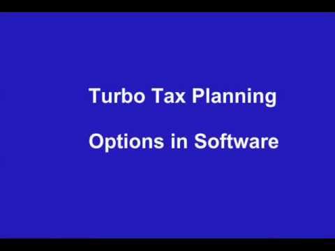 Tax Software   Turbo Tax