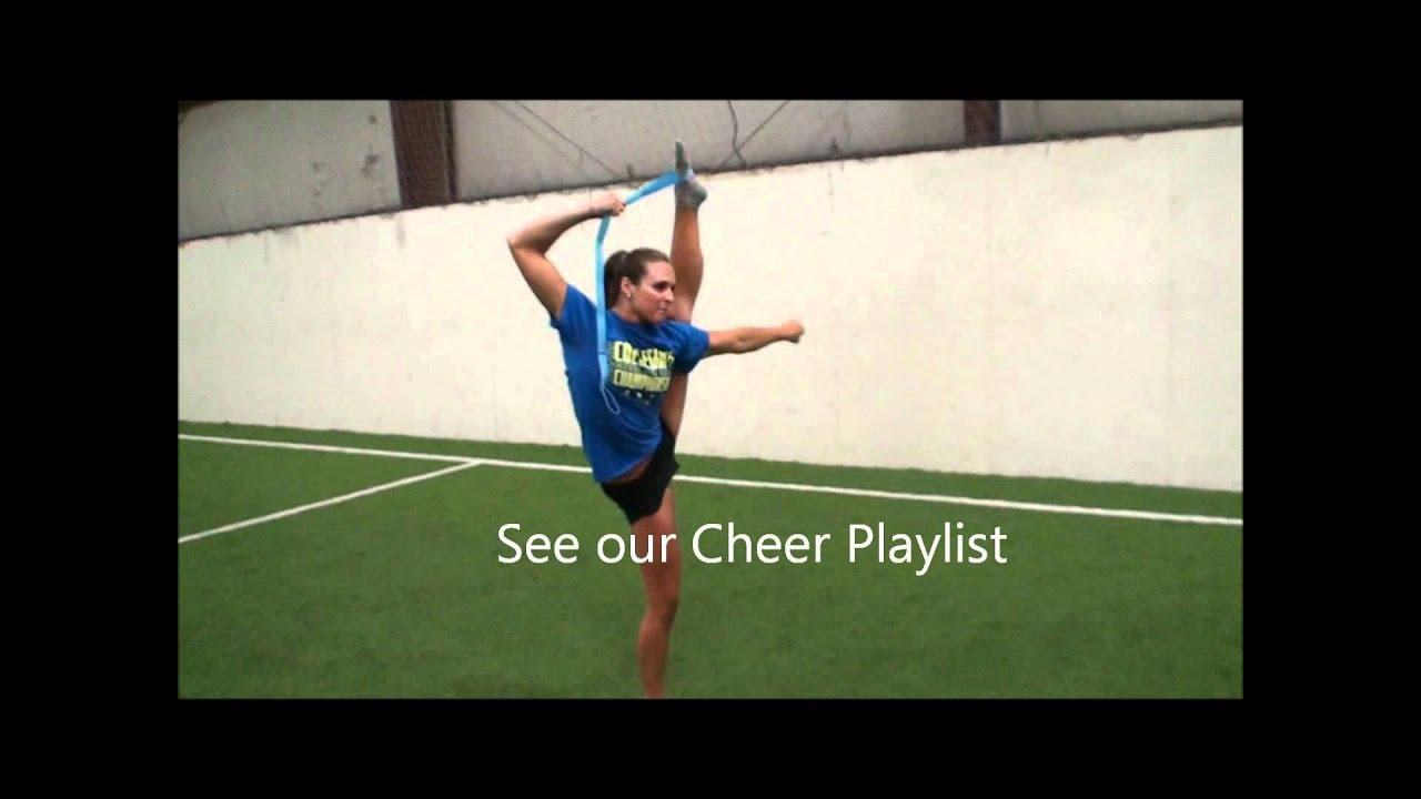 Cheerleading Stunts: Bow and Arrow | Cheerleading ...
