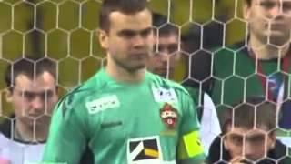Пенальти Цска -Спартак. 3-0