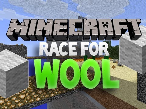 minecraft race the wool part 2 time to break out the. Black Bedroom Furniture Sets. Home Design Ideas