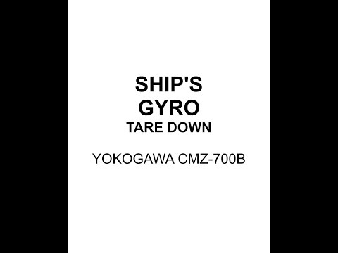 Gyrocompass Taredown