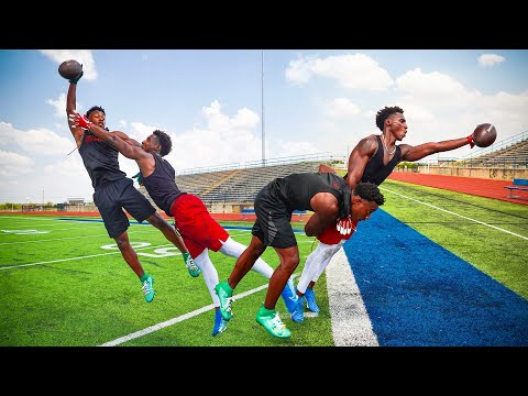 I ALMOST FOUGHT THIS TRASH TALKING HIGH SCHOOLER.. (DB vs WR 1ON1'S AGAINST 4-STAR)