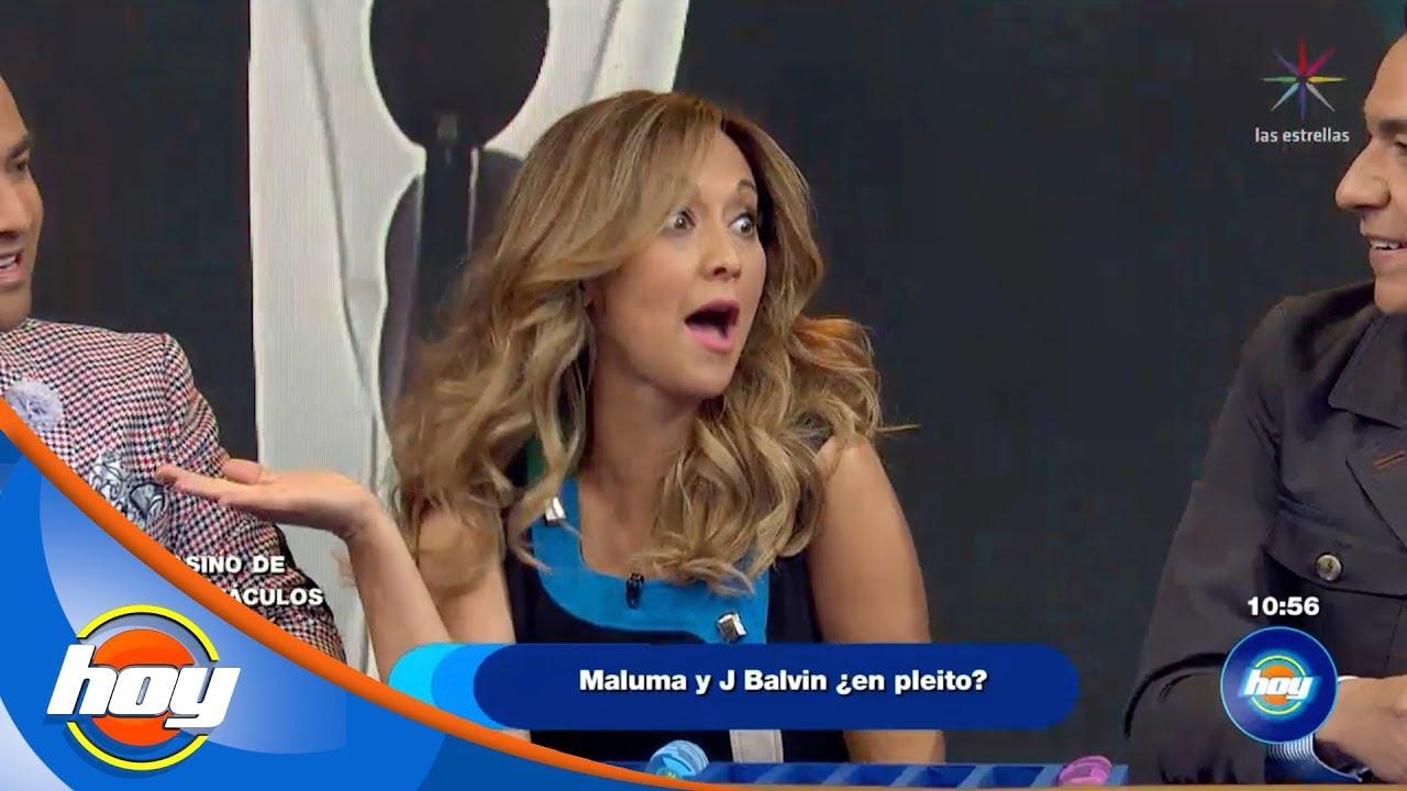 Maluma y j balvin en pleito el casino de los for Los espectaculos de hoy