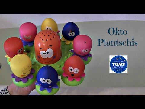 Okto Plantschis Badespielzeug   TOMY Toys