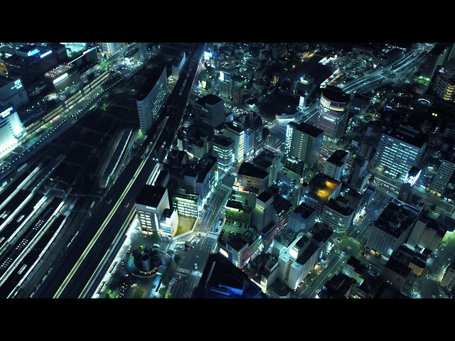 名古屋駅周辺の夜景