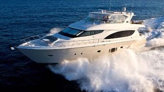 Building the new Hatteras 80 Motor Yacht presented by Randall Burg