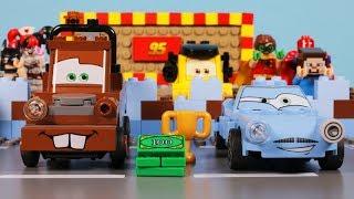 Lego Disney Cars - Mater's Backwards Driving & Lightning McQueen vs Finn McMissile
