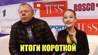 ИТОГИ КОРОТКОЙ ПРОГРАММЫ Девушки Финал Кубка России 2020