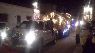 Caravana navideña Empalme Escobedo Gto. 2012