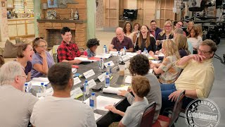 Roseanne cast cracks up during revival's table read