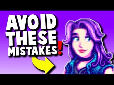 Stardew Valley - 15 Common Mistakes New Players Make