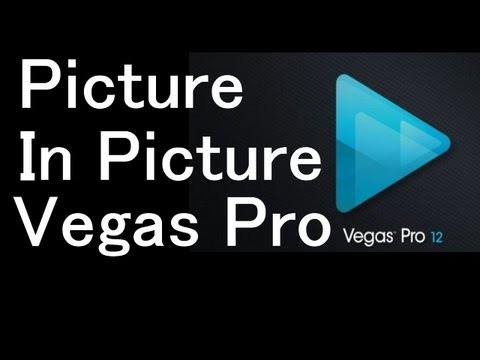 how to move pictures in sony vegas pro