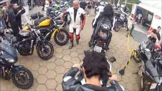 Ninja 300 Cortando giro com os amigos. Megacycle São Lourenço 2013