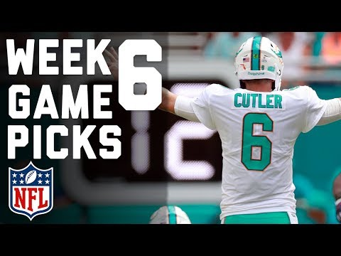 Week 6 Game Picks in Under 3 Minutes ⏱🏈  | NFL Highlights