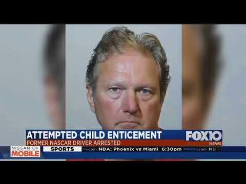 Former NASCAR driver arrested in Florida