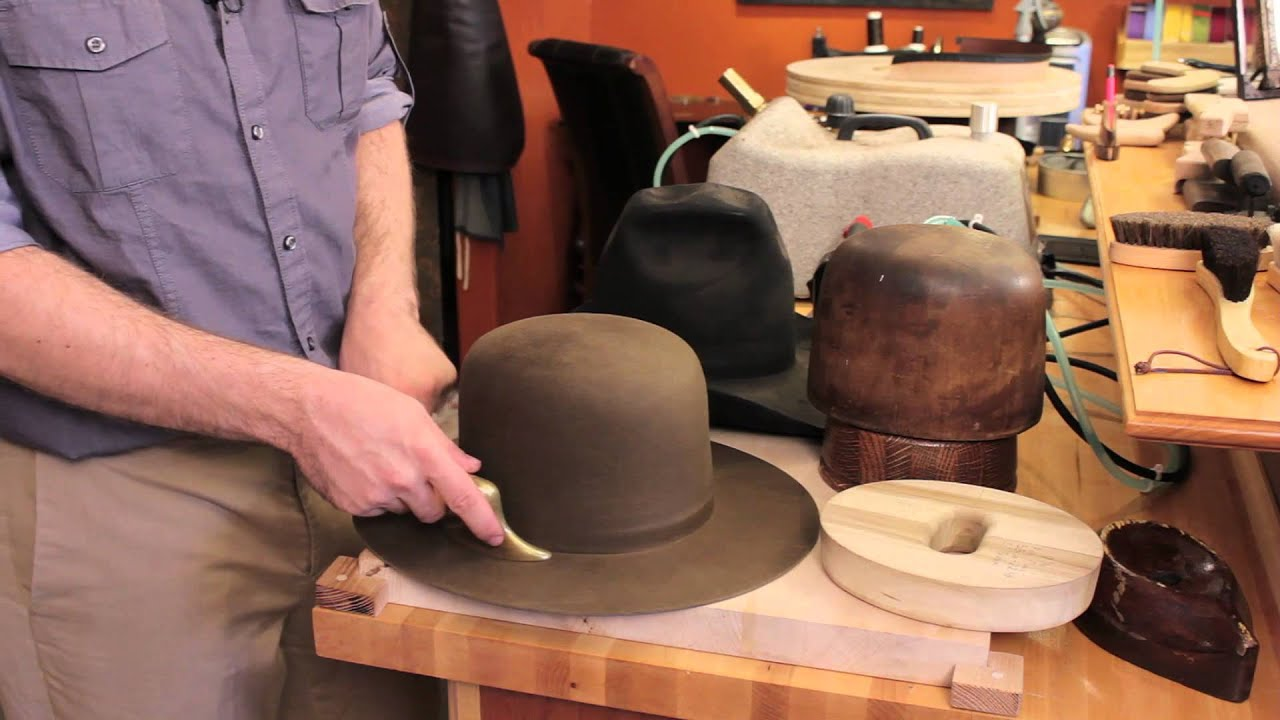 How To Restore Felt Hats Felt Hats Youtube