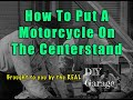 DIY Garage #5 - How To Put A Motorcycle On The Centerstand