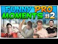 CS:GO - FUNNIEST PRO MOMENTS #2 FT. Drunk GeT_RiGhT, kennyS, pashaBiceps & More!