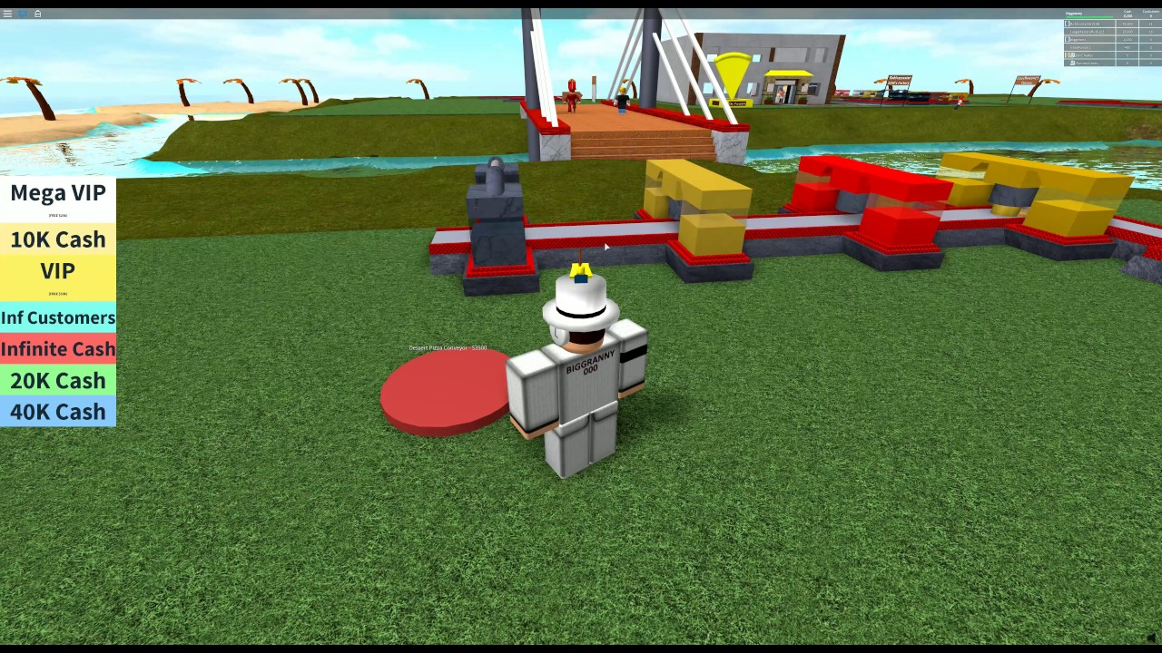 Roblox Pizza Factory Tycoon Lets Play Ep 1 Pizza Desserts