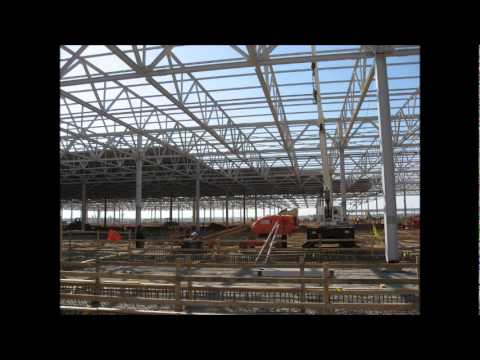 90,000CBM of steel structure for Kia GA by GHM America Corporation